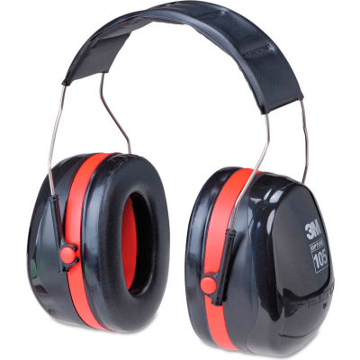 3M™ PELTOR™ Optime™ 105 HP Earmuffs, Over-The-Head, H10A