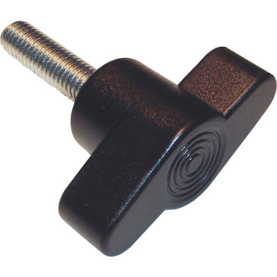 Thread Size 1//4-20 Large-Grip Plastic-Head Thumb Screw Acetal