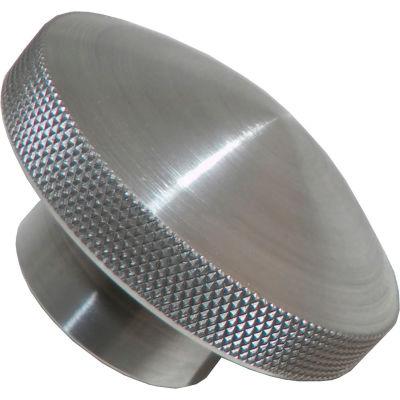 "Aluminum Domed Knobs - 3/4-10 Thread - 3-1/2"" Diameter - 1-7/8"" Knob Height - AK-110"