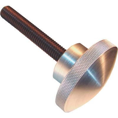"Aluminum Domed Knob Screws - 5/8-11 Thread - 3"" Thread Length - 3"" Knob Dia. - AK-6230"
