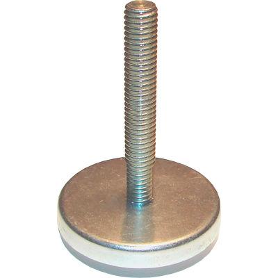 "Standard Industrial Glide - Steel Bolt, Nylon Pad - 3/8-16 x 2"" Bolt - 1-1/4"" Dia. - Light Duty"