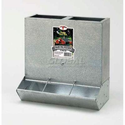 Little Giant Baby Pig Feeder Bpf3, 24 Gauge Rust-Resistant Gavl Steel, 3-Hole - Pkg Qty 2