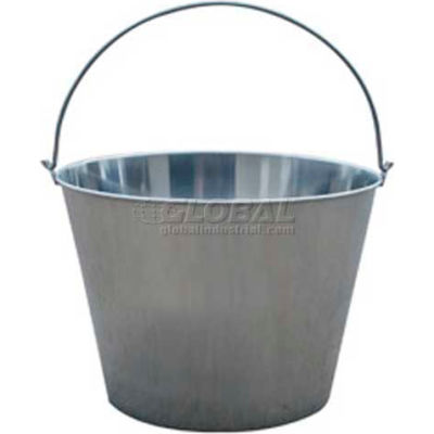 Little Giant Dairy Pail SS20P, Stainless Steel, 20 Qt.