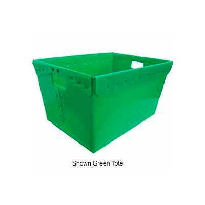 Corrugated Plastic Nestable Tote, 24 x17-1/2x13, Gray (Min. Purchase Qty 44+) - Pkg Qty 44