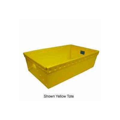 Corrugated Plastic Nestable Tote, 30-5/8x18-7/8x9-1/8, Natural (Min. Purchase Qty 88+) - Pkg Qty 34