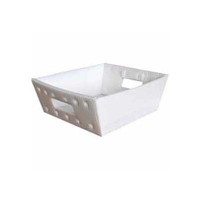 Corrugated Plastic Nestable Tray, 13x12x4-1/2, Blue (Min. Purchase Qty 76+) - Pkg Qty 270