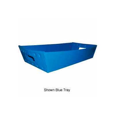 Corrugated Plastic Nested Tray, 24x12x4-1/2, Yellow (Min. Purchase Qty 76+) - Pkg Qty 180