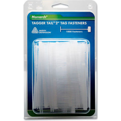 """Monarch® Tagger Tail® 2"""" Tag Fasteners, Polypropylene, 1000/Pack"""