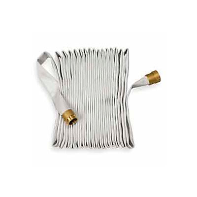 Moonflex Fire Hose Rack & Reel - 500 PSI - 1-1/2 In. X 50 Ft - Brass Coupling