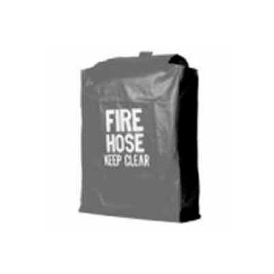 Fire Hose Rack Cover - 32 In. X 22 In. X 6 In. - Red Vinyl - For 142 & 143 Hose Rack