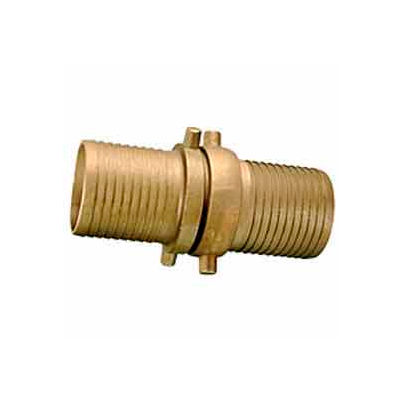 Fire Hose Short Shank Coupling Set - 2 In. NPSH - Brass
