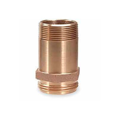 Fire Hose Rack Nipple - 1-1/2 In. NH x 1-1/2 In. NPT- Brass