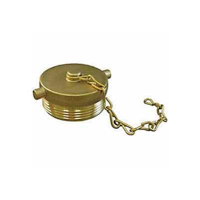 Fire Hose Hose Plug - 2-1/2 In. NH - Brass
