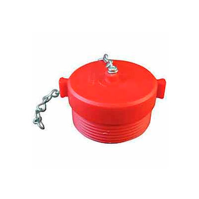 Fire Hose Red Hose Plug - 2-1/2 In. NH - Plastic