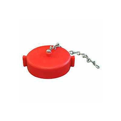 Fire Hose Red Hose Cap - 1-1/2 In. NH - Plastic