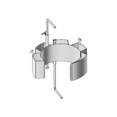 "Morse® Stainless Steel Drum Adaptor 55/30SS-19 for 18.5""- 19"" Diameter Drum"