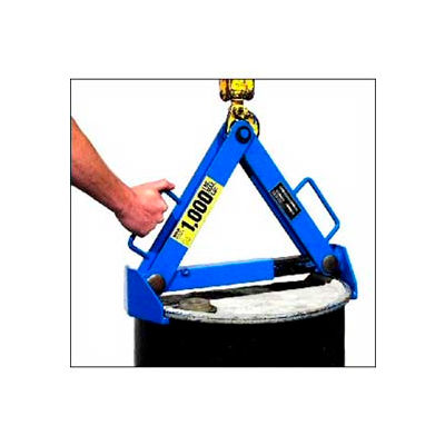 Morse® PailPRO™ Model 92-30 Drum Lifter - Top Chine - Rimmed Drums - 1000 Lb. Cap.