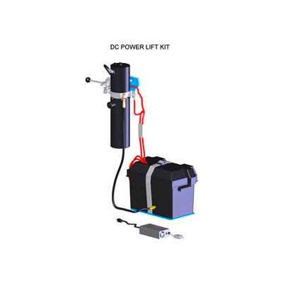 12V DC Power Lift Less Cyl Kit O-125FILC - Field Installed on Morse® Hydra-Lift Karrier