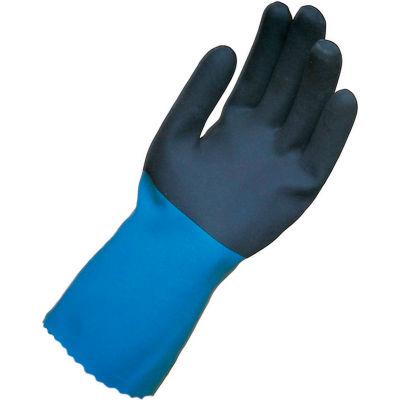 "MAPA® NL34 Stanzoil® Neoprene Gloves, 12"" L, Medium Weight, 1 Pair, Size 9, 334949"
