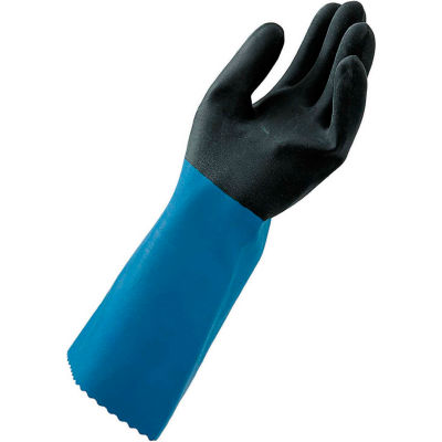 "MAPA® NL52 Stanzoil® Neoprene Gloves, 14"" L, Medium Weight, 1 Pair, Size 10, 337420"