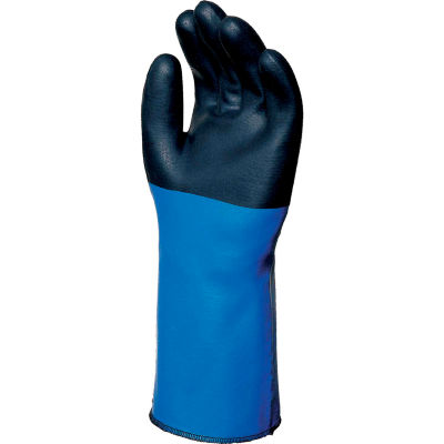 "MAPA® Temp-Tec® NL517 17"" Neoprene Coated Gloves, Heavy Weight, 1 Pair, Size 9, 338609"