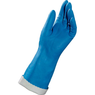 """MAPA® NK22 Stanzoil® Knit- Lined Neoprene Coated Gloves, 14"""" L, 1 Pair, Size 7, 382427"""