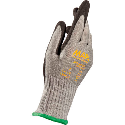 MAPA® Krynit Grip & Proof 580 Nitrile Palm Coated HDPE Gloves, Cut Level A2, 1 Pair, Size 9