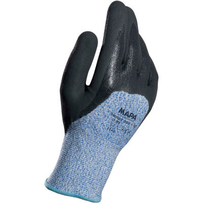 MAPA®582 Krynit Grip & Proof 582 Nitrile 3/4 Coated HDPE Gloves, Cut Level A4, 1 Pair, Size 11
