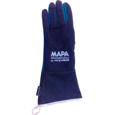 "MAPA® Cryoket 400 Waterproof Cryogenic Gloves, 16"" L , 1 Pair, Size 9, CRYKIT400409"
