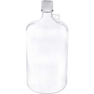Thermo Scientific Nalgene™ Narrow-Mouth Polycarbonate Bottle with Closure, 4 Liter, 1 Each