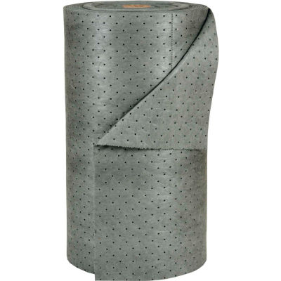 "Brady SPC® MRO30-DP MRO Plus® Universal Roll, 30""W x 150'L, Heavy Weight, DBL Perforated"
