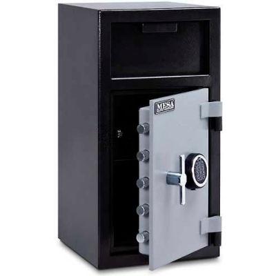 Mesa Safe B-Rate Depository Safe MFL2714E-ILK Front Loading Digital Lock-Keyed Interior,14x14x27-1/4