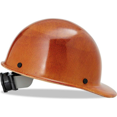 MSA 475395 Skullgard Protective Hard Hats, Front Brim, Ratchet Suspension, Size 6-1/2 - 8, Tan