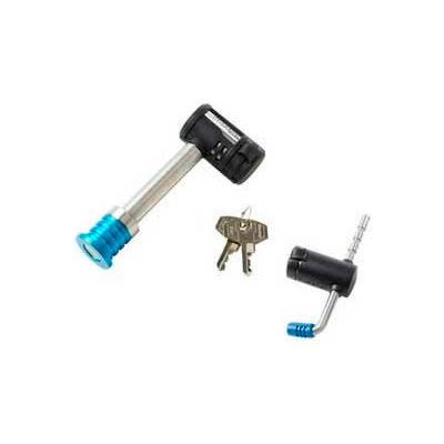 "Master Lock® Barbell™ Receiver Lock W/Adjustable Coupler Latch Lock, 5/8"" - Pkg Qty 4"