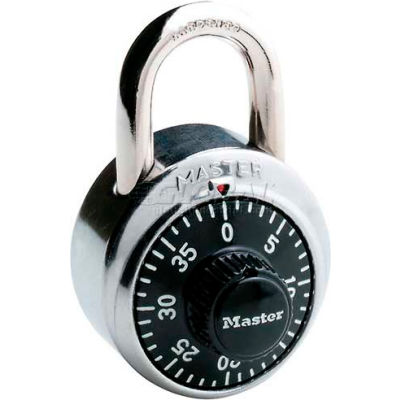 Master Lock® No. 1500 Non-Resettable Combination Padlocks - Pkg Qty 72