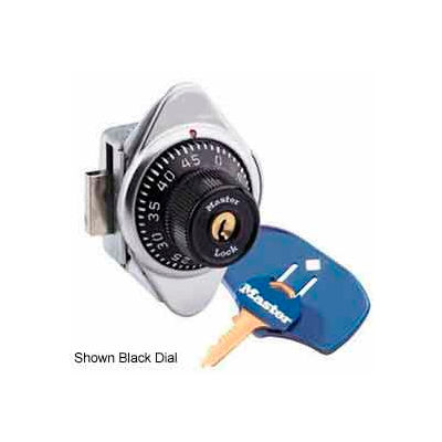 Master Lock® No. 1636MKMDBLUADA Built-In Combo Lock - ADA Compliant - Lift Handle - Blue