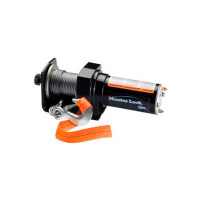 Master Lock® ATV Winch, 12V, Permanent Mount