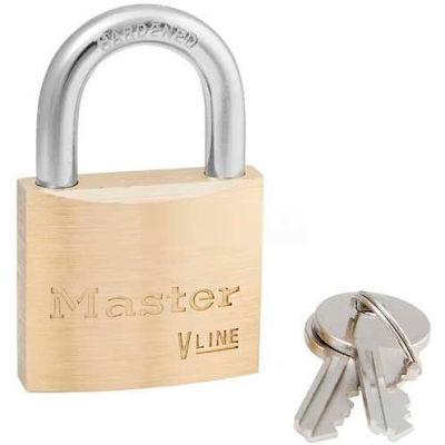 Master Lock® No. 4140 General Security Brass Solid Body Padlocks - Pkg Qty 72