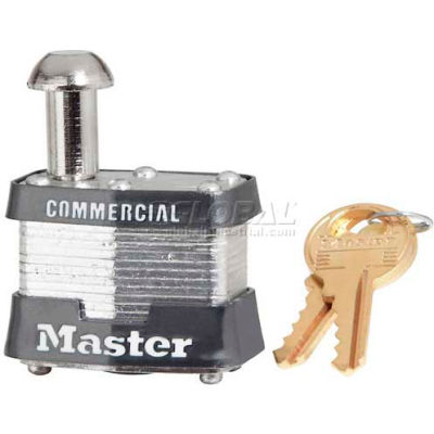 Master Lock® No. 443KA General Security Laminated Padlocks - Pkg Qty 24