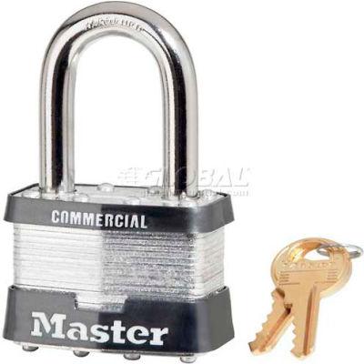 Master Lock® No. 5MKLF General Security Laminated Padlocks with Master Keyed System - Pkg Qty 24