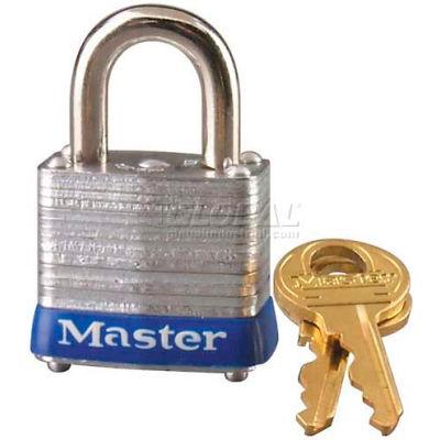 Master Lock® No. 7MK General Security Laminated Padlocks with Master Keyed System - Pkg Qty 24