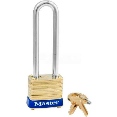 Master Lock® No. 8LJ General Security Laminated Padlocks Keyed Different - Pkg Qty 24
