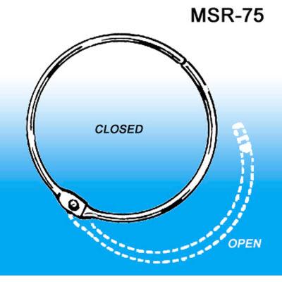 "Metal Hinged Snap Ring, 3/4"" - Pkg Qty 100"