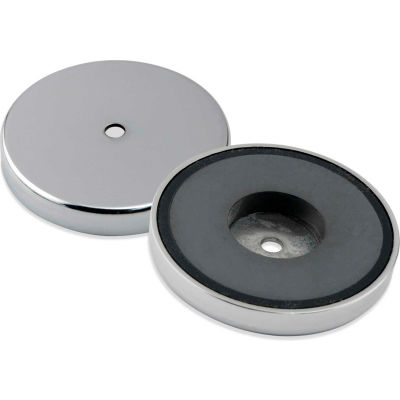 Master Magnetics Ceramic Round Base Magnet RB80PRCBX - 95 Lbs. Pull