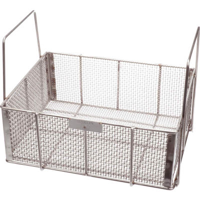 """Marlin Steel Wire Basket 17""""L x 13""""W x 6-1/2""""H 0.25"""" Wire - Stainless Steel - Price Each for Qty 5+"""