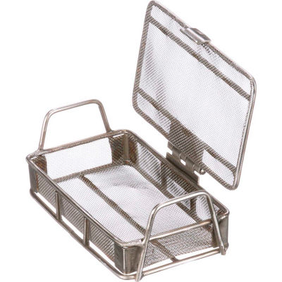 Marlin Steel Small Parts Wire Basket Lid 24 Openings / Liner Inch 5x3x1 Steel Price Each for Qty 5+
