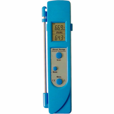 Mastercool® 52226 Dual Temp Infrared/Probe Thermometer