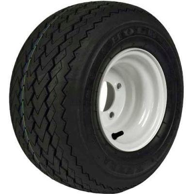 Martin Wheel 18 x 850-8 Golf Cart Tire & Wheel Assembly - White - 858GK4W-4SWI