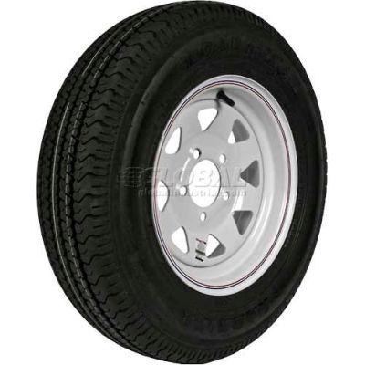 Martin Wheel 175/80R-13 Radial Trailer Tire & Custom Spoke Wheel Assembly DM175R3C-5C-I