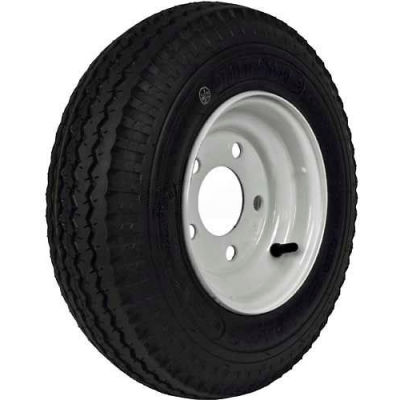 "Martin Wheel 480/400-8 LRB Trailer Tire & Wheel Assembly - Bolt Circle 5"" x 4.5"" - DM408B-5I"